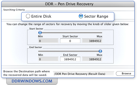 ddr pen drive recovery full version