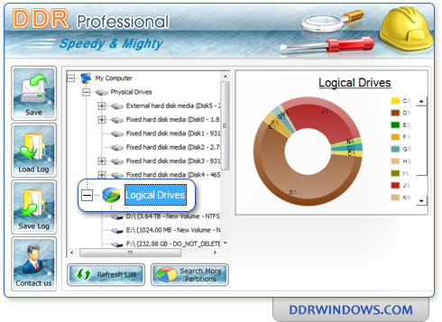 Ddr professional recovery software
